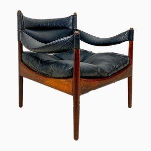 Palisander Armlehnstuhl von Kristian Vedel für Willadsen Møbelfabrik