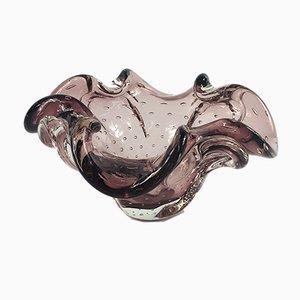 Bullicante Schale oder Schale aus Muranoglas, 1960er