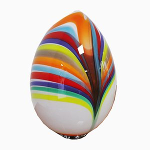 Murano Lampe aus geblasenem Ei