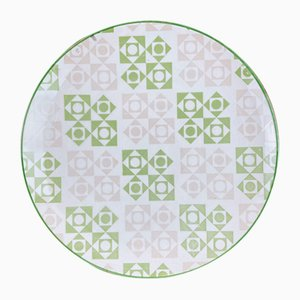 Printed Porcelain Plate, Spain, 1970s