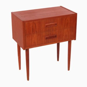 Vintage Chest of Drawers with High Legs & 2 Drawers