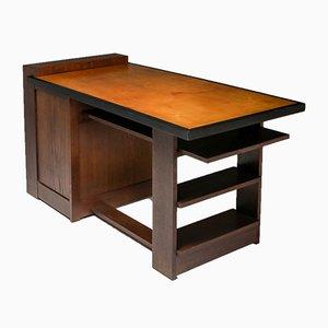 Vintage Modernist Desk by M. Wouda for H. Pander
