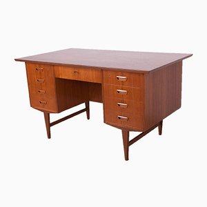 Freestanding Teak Desk, 1960s