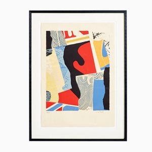 Large Lithograph, Max Papart, 1911-1994