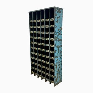 Vintage Industrial Pigeon Hole Unit