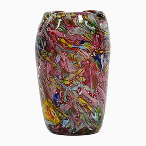 Large Murano Glass Rest of the Day Vase by Dino Martens for Aureliano Toso, 1955
