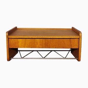 Scandinavian Teak Wall Shelf
