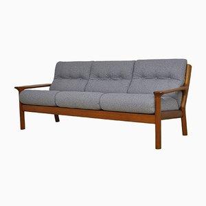 Canapé en Teck par Juul Kristensen pour Glostrup Møbelfabrik, 1960s