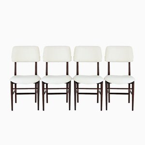Esszimmerstühle von Vittorio Dassi, 1960er, 4er Set