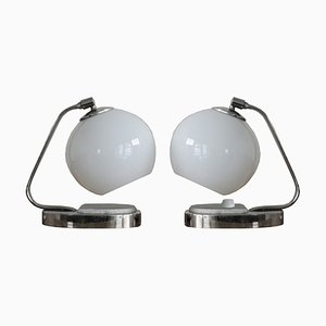 Bauhaus Table Lamps, 1940s, Set of 2