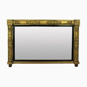 Antiker Kaminsims Spiegel
