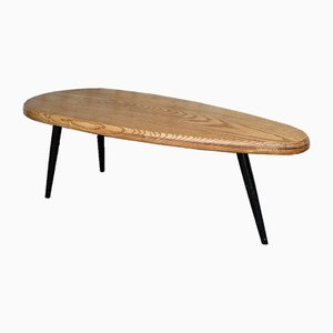 Mid-Century Charlotte Perriand Style Oval Table