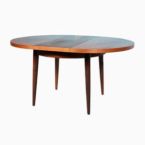 Round Teak Dining Table, 1960s