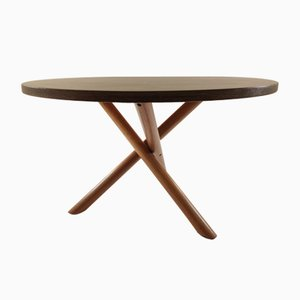 Dutch Wenge Dining Table by Martin Visser, 1970s
