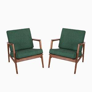 300-139 Armchairs from Swarzędzka, 1960s, Set of 2