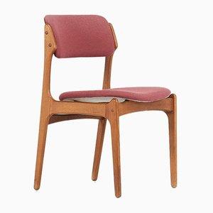 Modell 49 Stühle von Erik Buch für OD Møbler, 4er Set