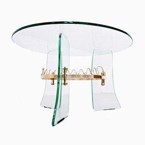 Fontana Arte Style Coffee Table, 1950s