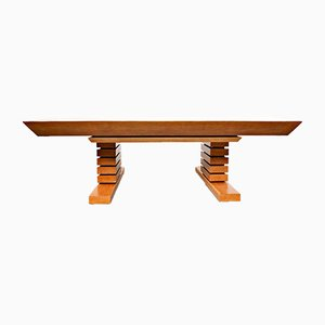 Large Postmodernist Modular Table, 1980s