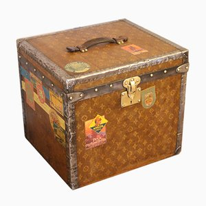 Monogrammed Woven Canvas Hat Trunk from Louis Vuitton, 1900s