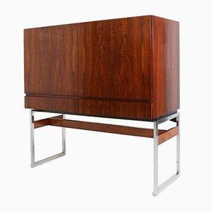 Vintage Rosewood Bar Cabinet by Rudolf Bernd Glatzel for Fristho