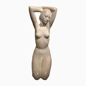 Riccardo Scarpa, Woman, 1960s, Plaster Sculpture