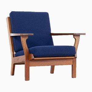 Danish GE-320 Lounge Chair by Hans J. Wegner for Getama, 1956