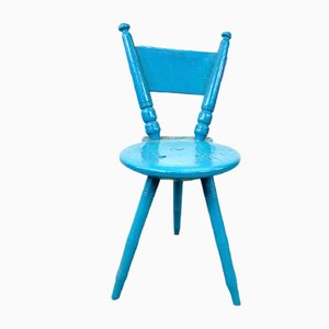 Swedish Tripod Chair, 19th Century