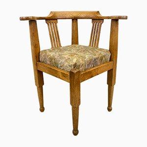Antiker schwedischer Beistellstuhl aus Eiche, 19. Jahrhundert
