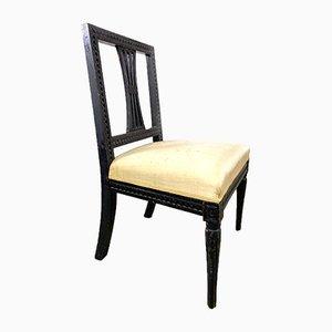 Antiker Schwedischer Gustavianischer Stuhl, 18. Jahrhundert