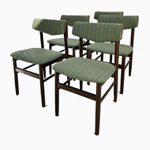 Danish Dining Chairs, 1960s, Set of 5