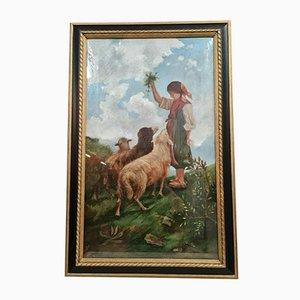 Grande Ecole Napolitaine, 1909, Oil on Canvas, Maria Laetizia