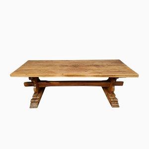 Wooden Monastery Table, Mid-20th Century