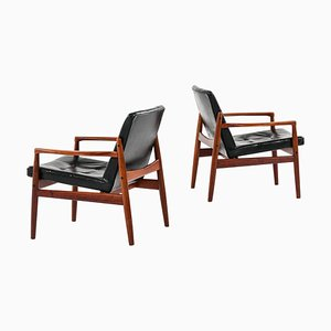 Model Viken Easy Chairs from Ope, Sweden, Set of 2