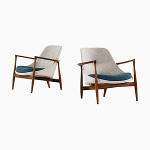 Model U56 / Elizabeth Easy Chair by Christensen & Larsen for IB Kofod-Larsen, Set of 2