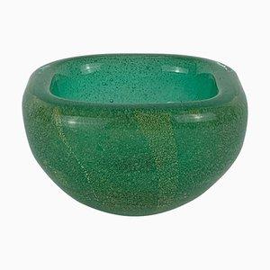 Cuenco sumergible de cristal de Murano soplado de Carlo Scarpa para Venini