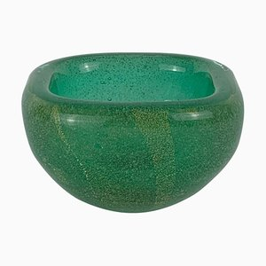 Submerged Blown Murano Glass Bowl by Carlo Scarpa for Venini