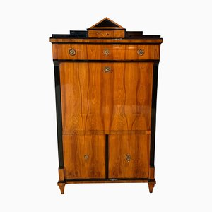 Neoclassical Biedermeier Secretaire with Cherry Veneer, 1820s