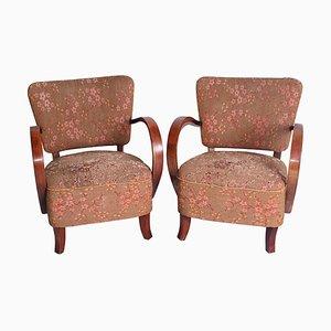 Halabala Cocktail Armchairs, Set of 2