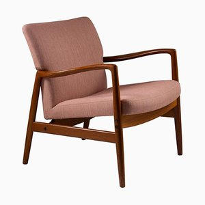 Mid-Century Swedish Lounge Chair by Bertil Gottfrid Hagen for Bodafors