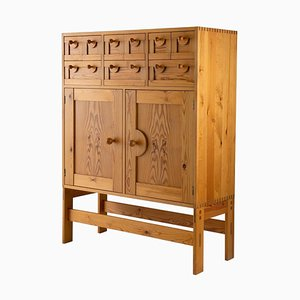 Pine Cabinet by Sven Larsson, Sweden, 1970s