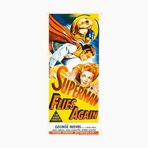 Superman Flies Again Plakat, 1954