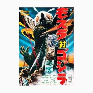 Mothra vs. Godzilla Poster, 1970s