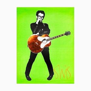 Elvis Costello Plakat, 1978, Barney Bubbles