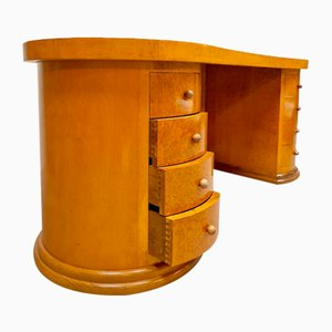 Niederländischer Art Deco Schreibtisch von Dick Dankers für Frozen Fountain