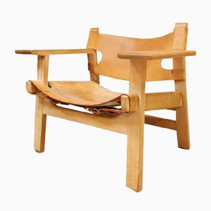 Mid-Century Spanish Chair by Børge Mogensen for Fredericia