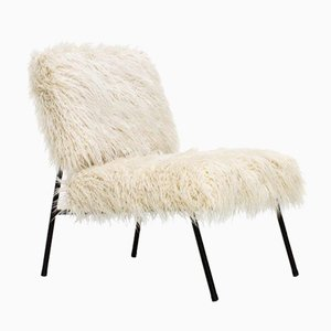 Fireside Easy Chair in Fabric by Pierre Guariche for Airbourne, 1960s
