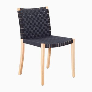 Nr 737 Chair in Black by Peter Maly for Thonet