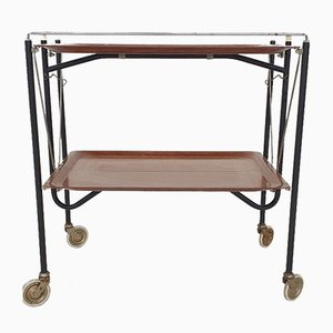 Mid-Century Foldable Serving Trolley, 1960s
