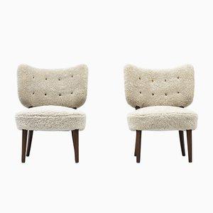 Swedish Modern Lounge Chairs, Set of 2