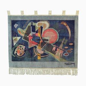 Kandinsky Seiden Wandteppich von Carpet Weavers Association